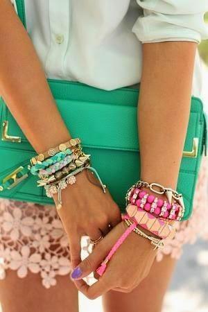 Модные и стильные браслеты своими руками