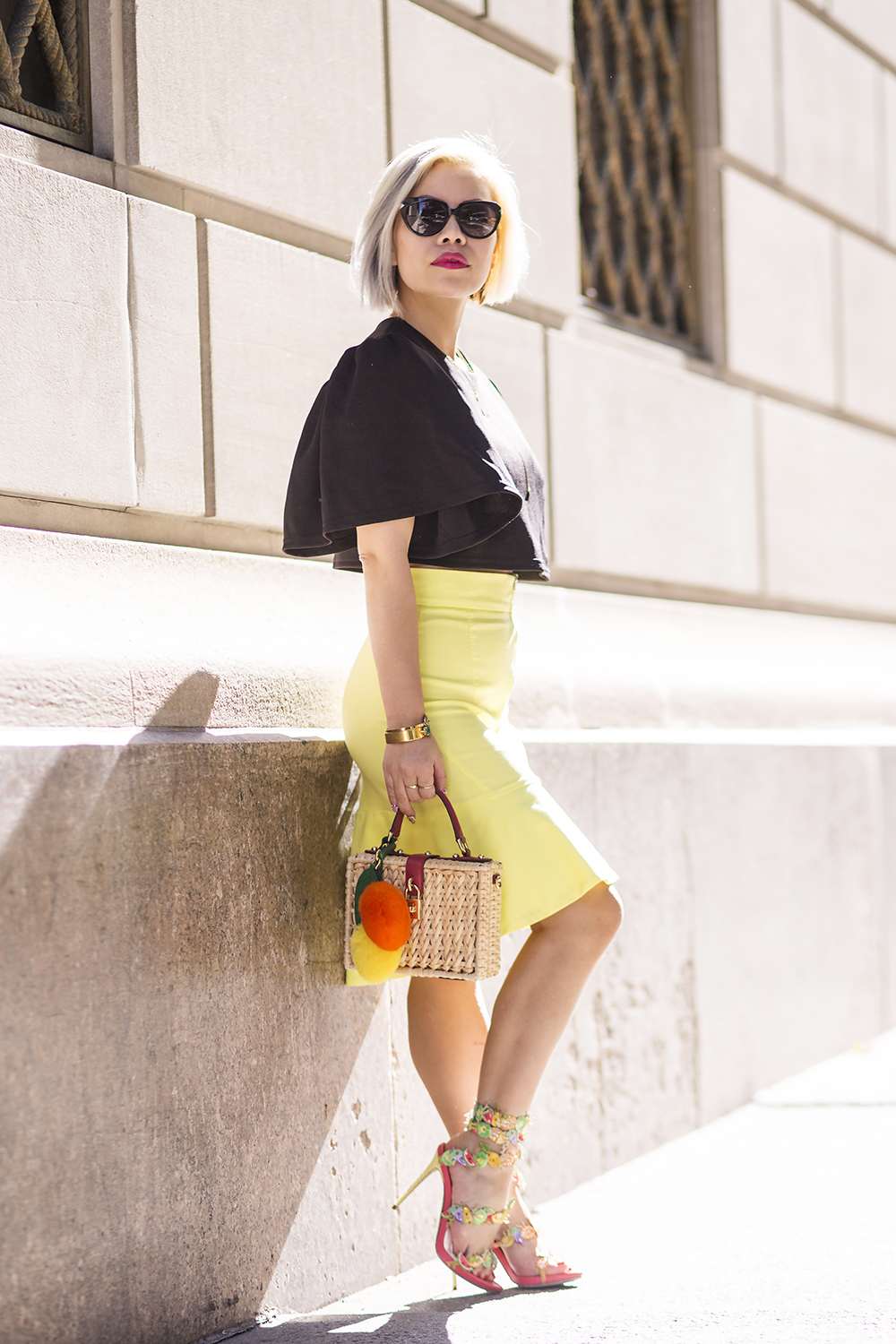 New York Fashion Week- Crystal Phuong- Streetstyle outfit