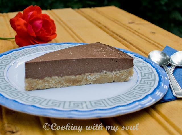 Cheesecake de ciocolata fara coacere