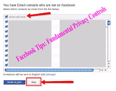 Facebook Tips: Fundamental Privacy Controls