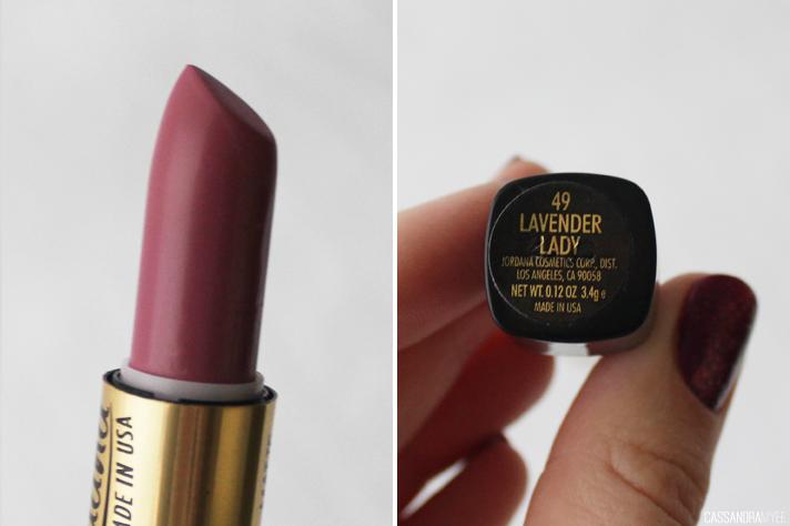 JORDANA // Lipstick Collection + Swatches - Matte Lipsticks Lavender Lady - cassandramyee