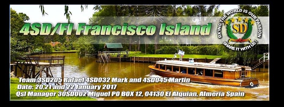 Francisco island Dxpedition