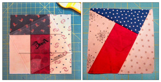 Jelly Roll - BasiX Template - Patriotic Quilt