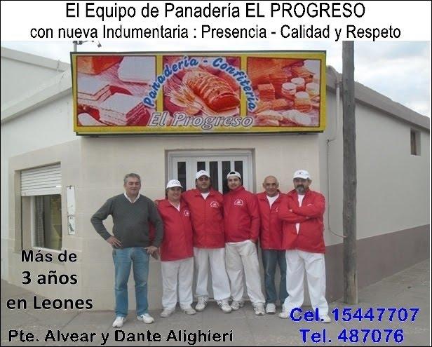ESPACIO PUBLICITARIO: PANADERÍA EL PROGRESO