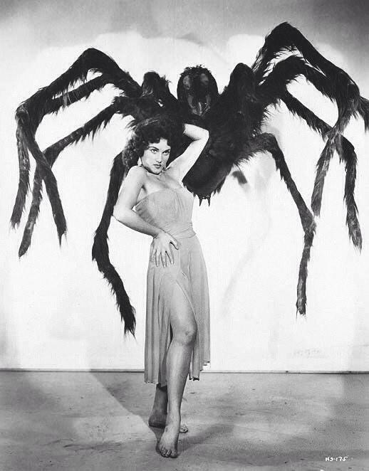 Beware the Cob Web girl !
