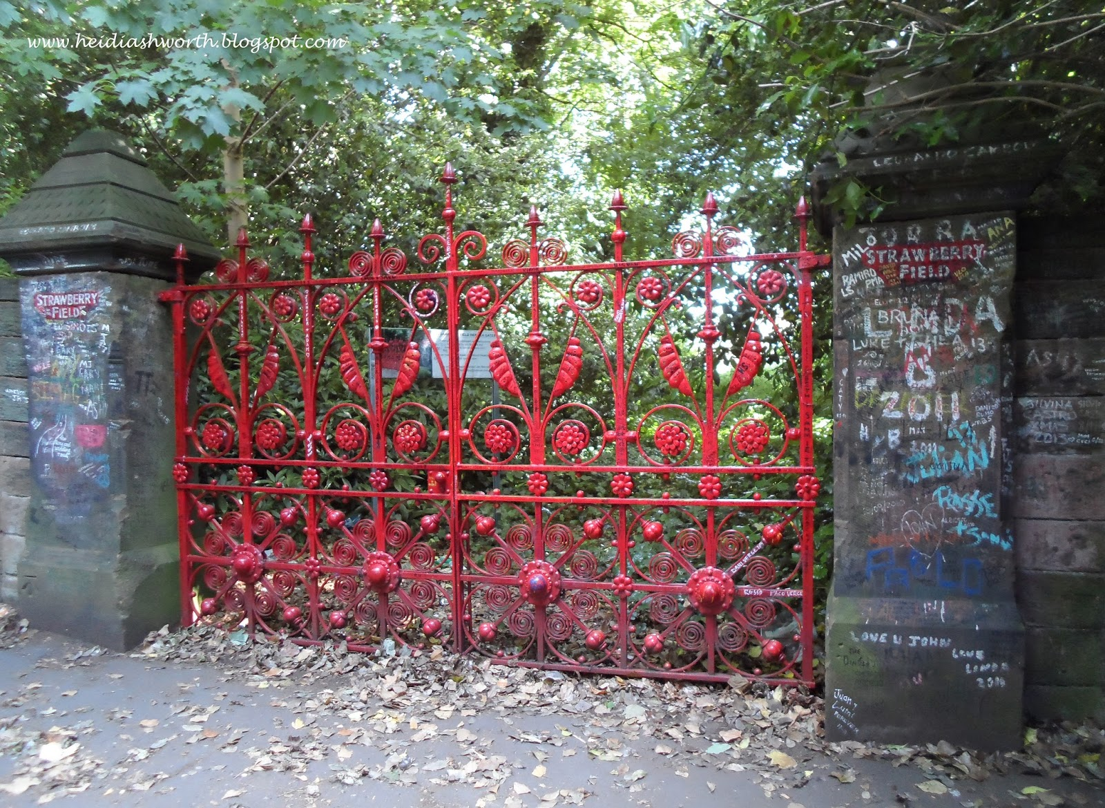 Dunhaven place liverpool the beatles strawberry fields forever it had already been an eventful day breakfast at the wonderful macdonald bath spa hotel prince charless highgrove anne hathaways cottage and william fandeluxe Gallery