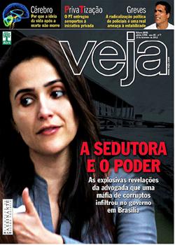 Revista Veja A Sedutora e o Poder