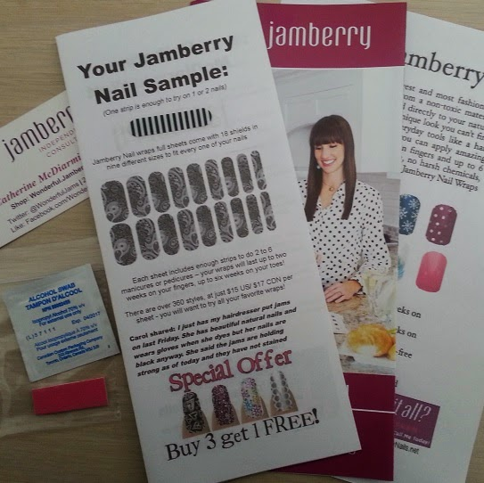 Image: What's in your Jamberry Nail Wrap sample packet