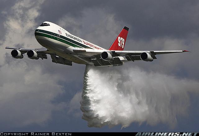 Boeing Evergreen 747 Supertanker
