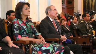 Misa de Acción de Gracias en Palacio por tercer año de gobierno de Danilo Medina