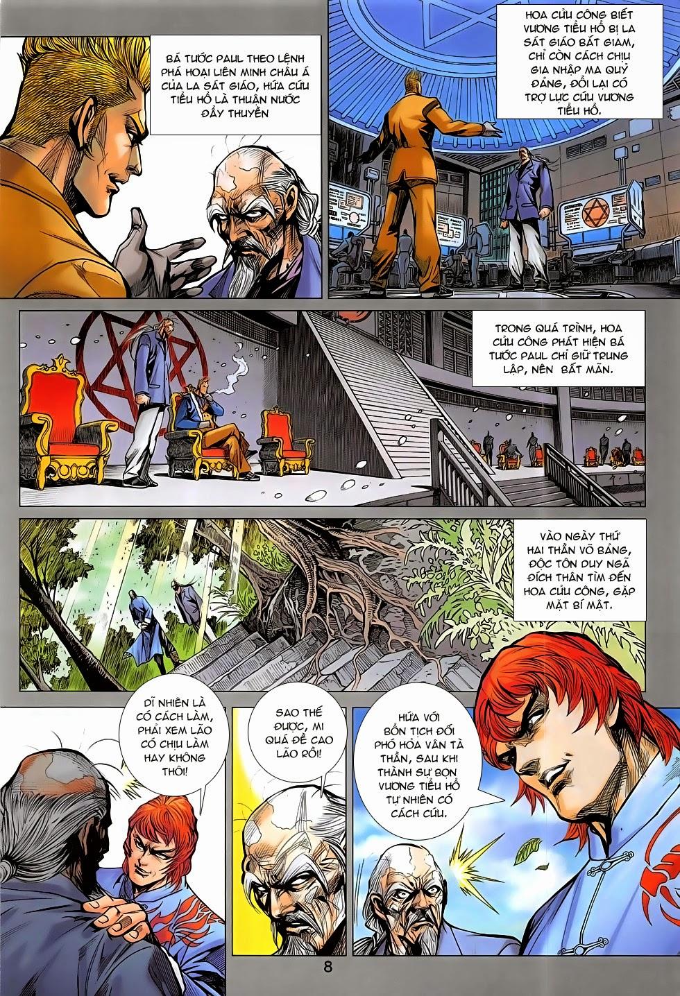 Tân Tác Long Hổ Môn chap 782 Trang 8 - Mangak.info