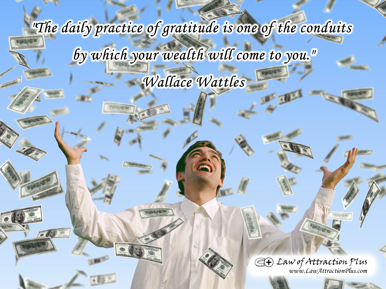 Free Daily Quotes The Daily Practice Of Gratitude Is One Of The Conduitswhich