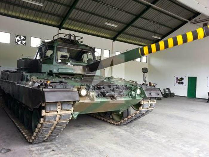 Leopard 2 Fahrschulpanzer