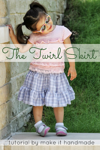 twirl skirt sewing tutorial