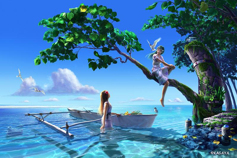 Kagaya Celestial Exploring Serenity 01 - Fantasy Landscapes ...