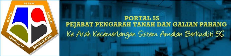 Sistem Amalan Berkualiti 5S Pejabat Pengarah Tanah dan Galian Pahang