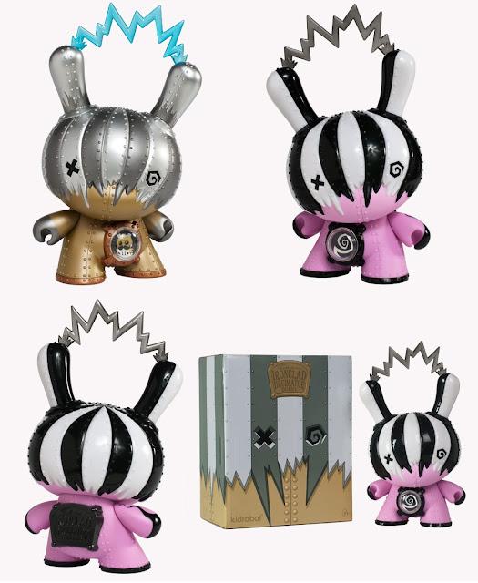 Kidrobot: Ironclad Decimator Dunny by Doktor A - Regular & Mecha Rupture Edition