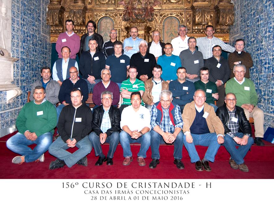 CURSILHO 156º HOMENS