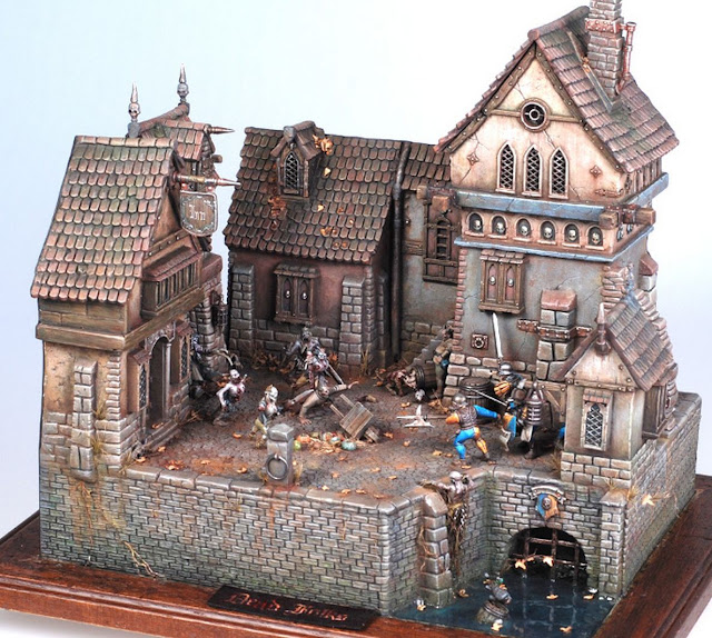 Empire Town Diorama picture