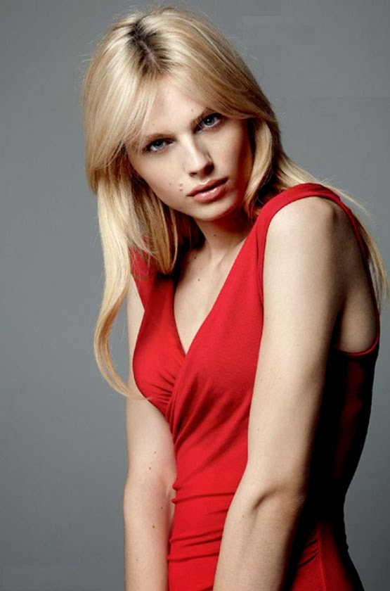 Australian androgynous model Andrej Pejic - CGP Gallery