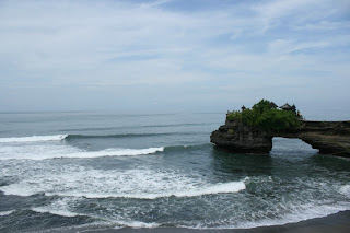 batu bolong at Senggigi