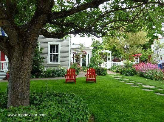Jardines rusticos de campo great bonita decoracin terraza - Jardines en casas de campo ...