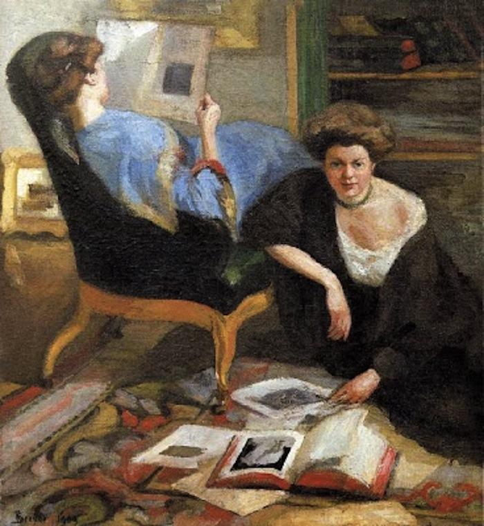 Robert Breyer. Women Reading, 1909