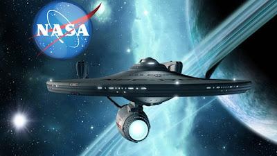 Nave espacial de la NASA al estilo Star Trek
