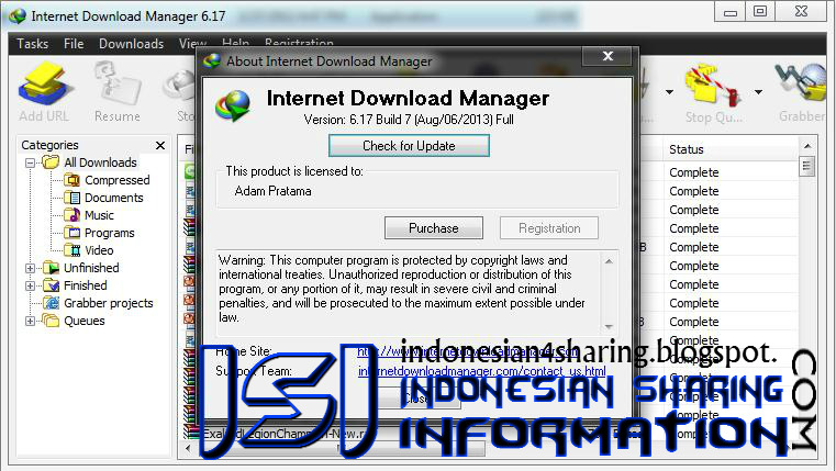 Download IDM Terbaru 6.17 Build 7 Full Patch