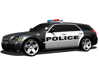 SUV Police Car