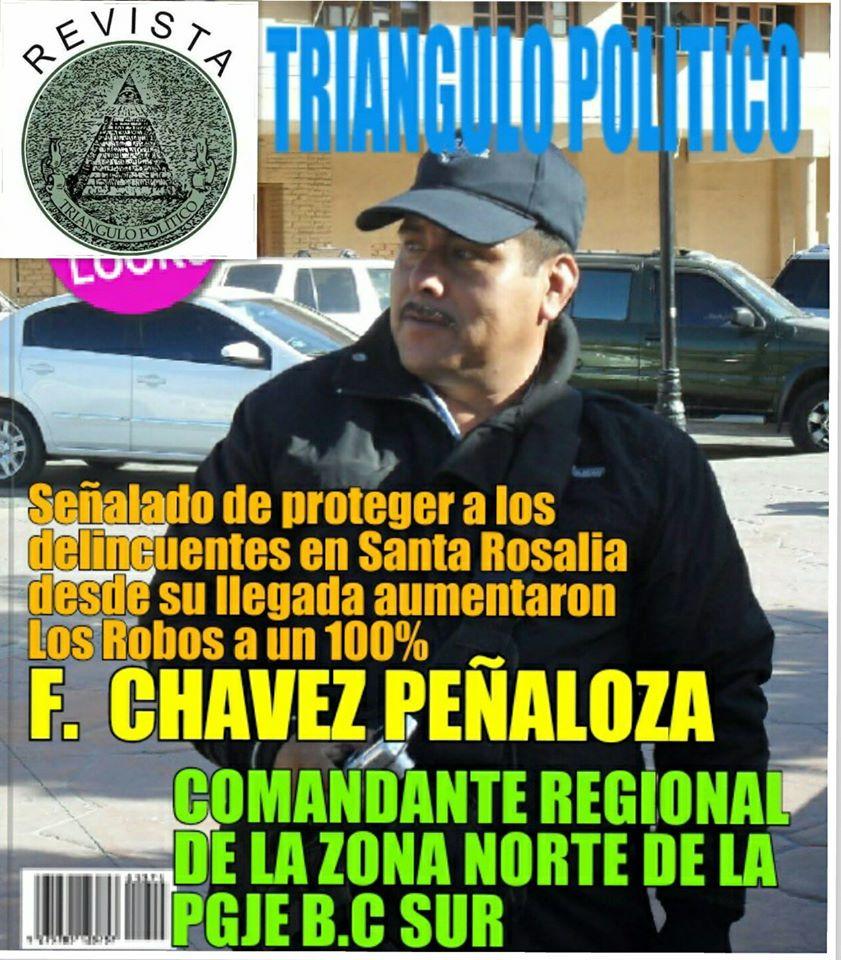 Azota ola de robos en Santa Rosalía.