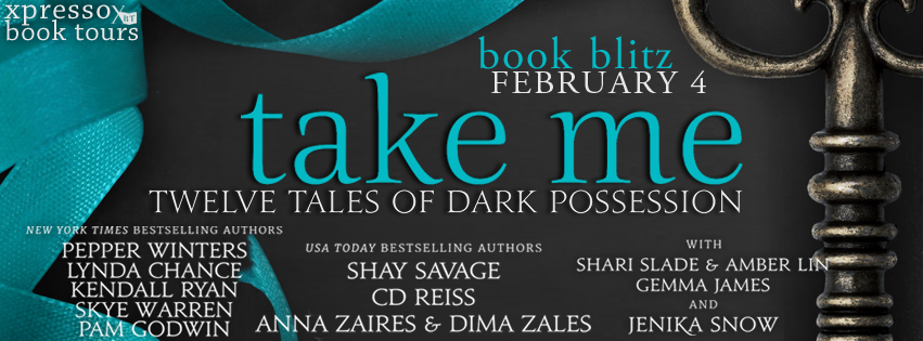 Book Blitz: Take Me: Twelve Tales of Dark Possession Boxed Set