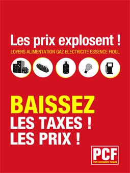 Taxes-Prix-PCF dans Speculation
