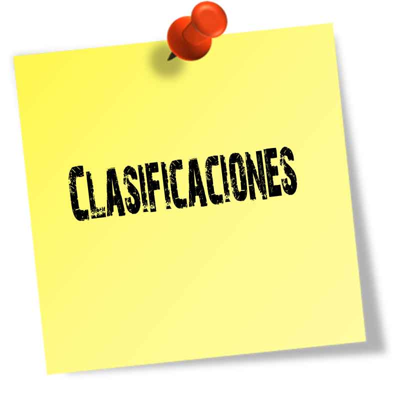 Consultar CLASIFICACIONES