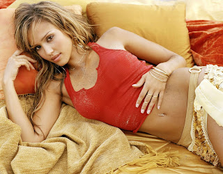 cute beauty jessica alba naked