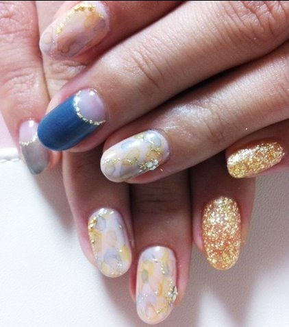 nails nail Unhas Decoradas Arte e Idéias para o Inverno 2013