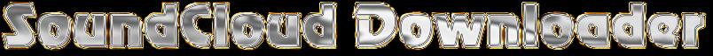 Soundcloud to mp3 Downloader