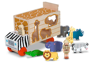 melissa and doug sorting truck
