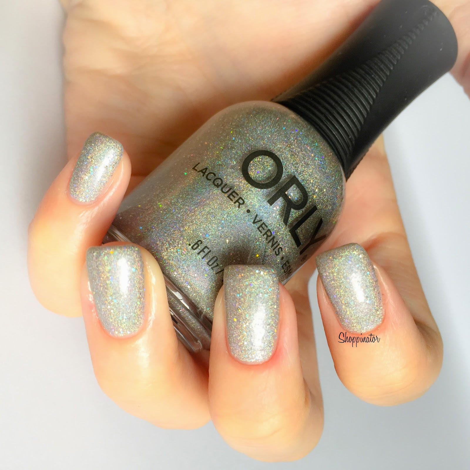 Orly – 'Mirrorball' – Swatches