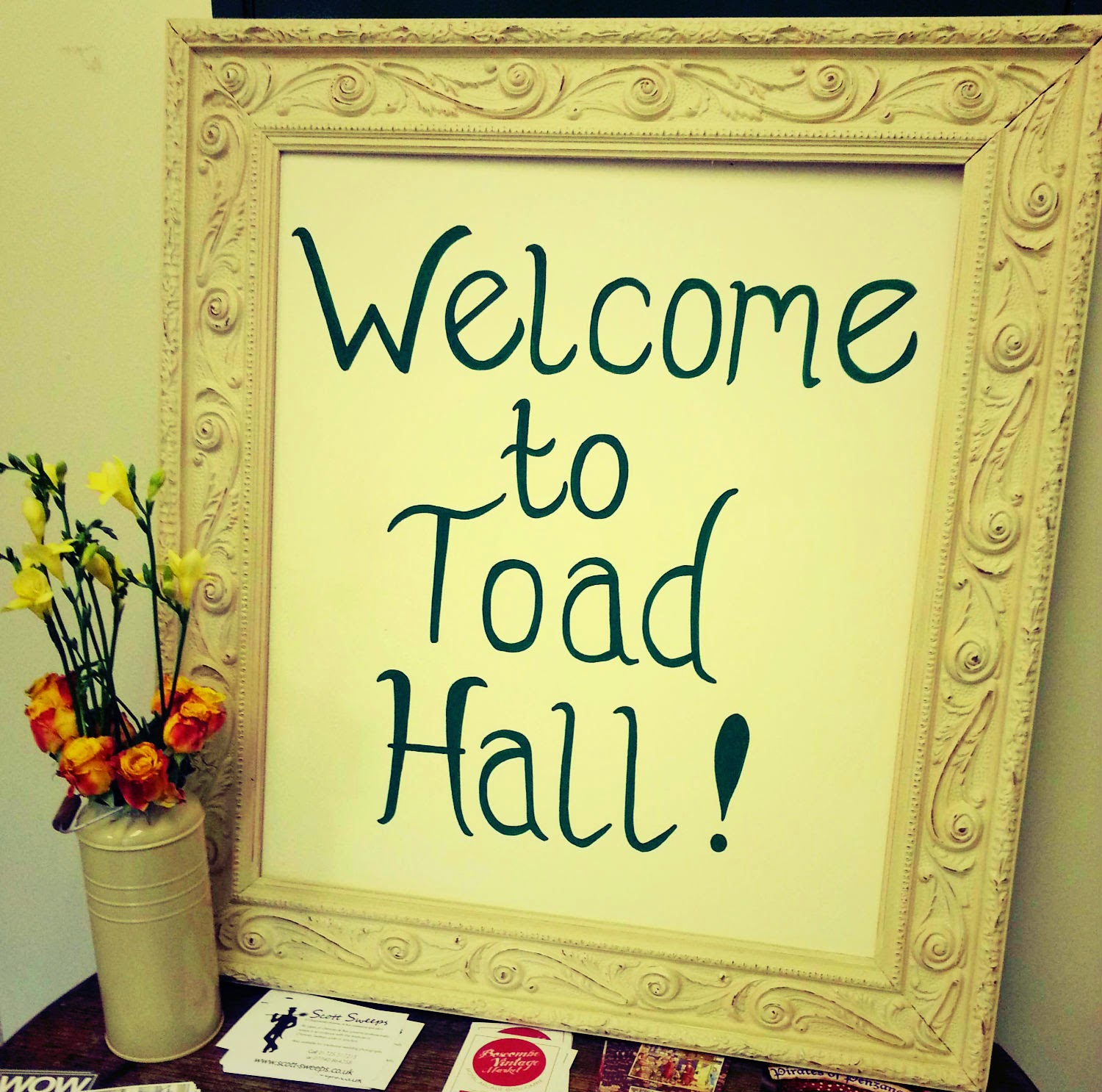 Toad Hall Country Vintage shopping, Wimborne, Dorset