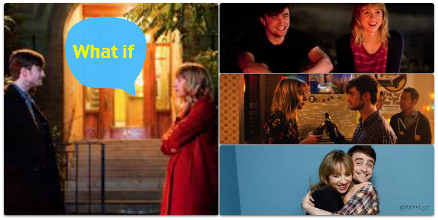 what if film collage daniel radcliffe & zoe kazan