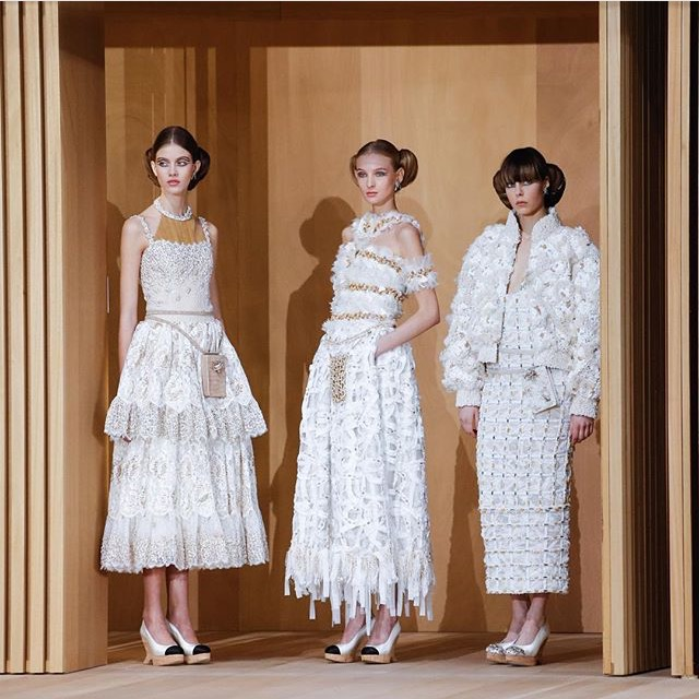 photo from Chanel Haute Couture show in paris