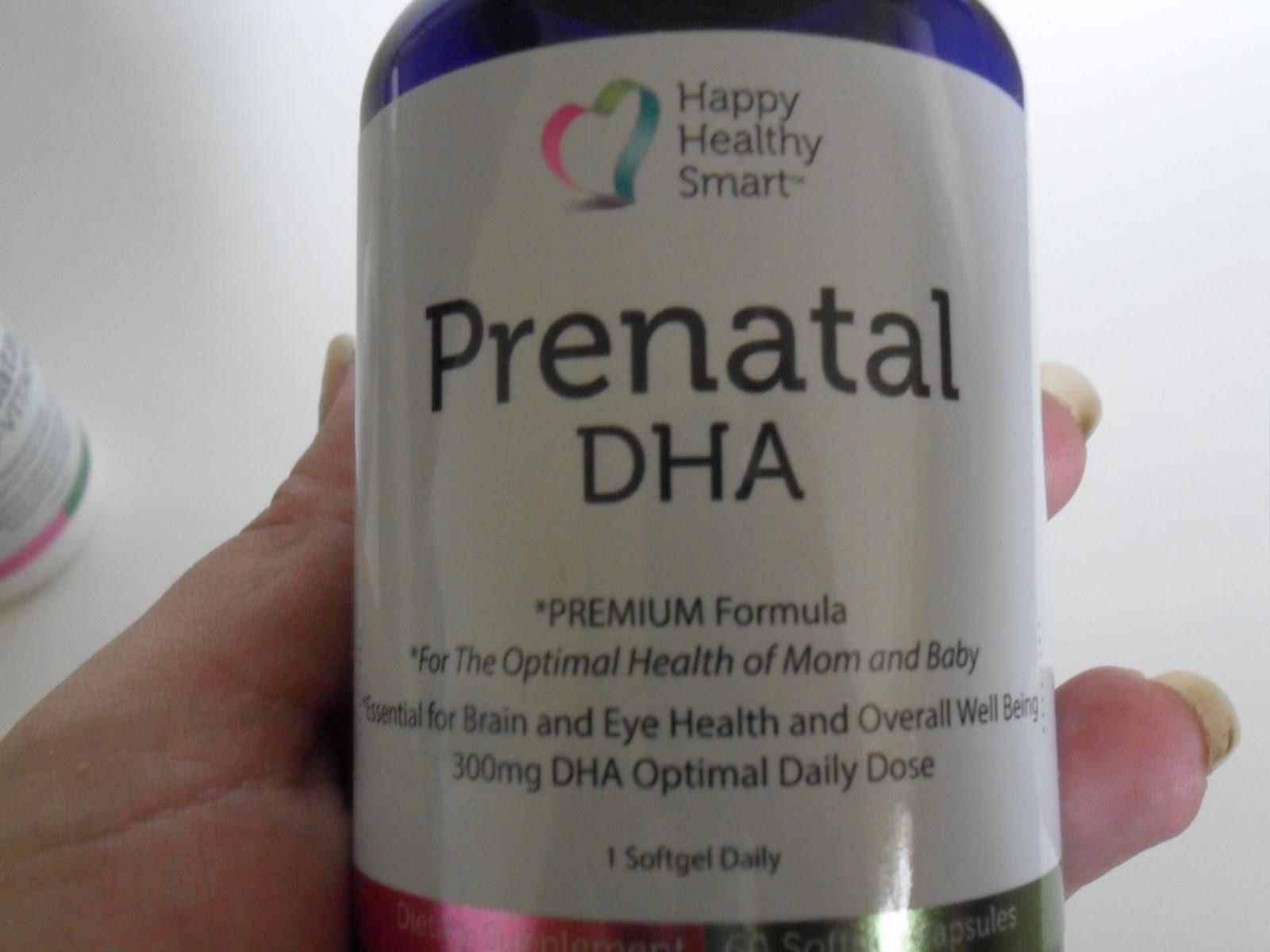 Happy Healthy Smart Prenatal Vitamins. Review