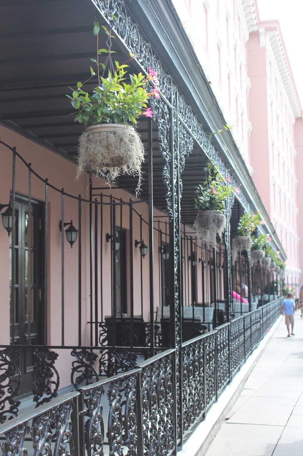 The Mills House Balcony Charleston, SC