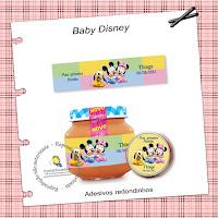 pote de papinha personalizado baby disney