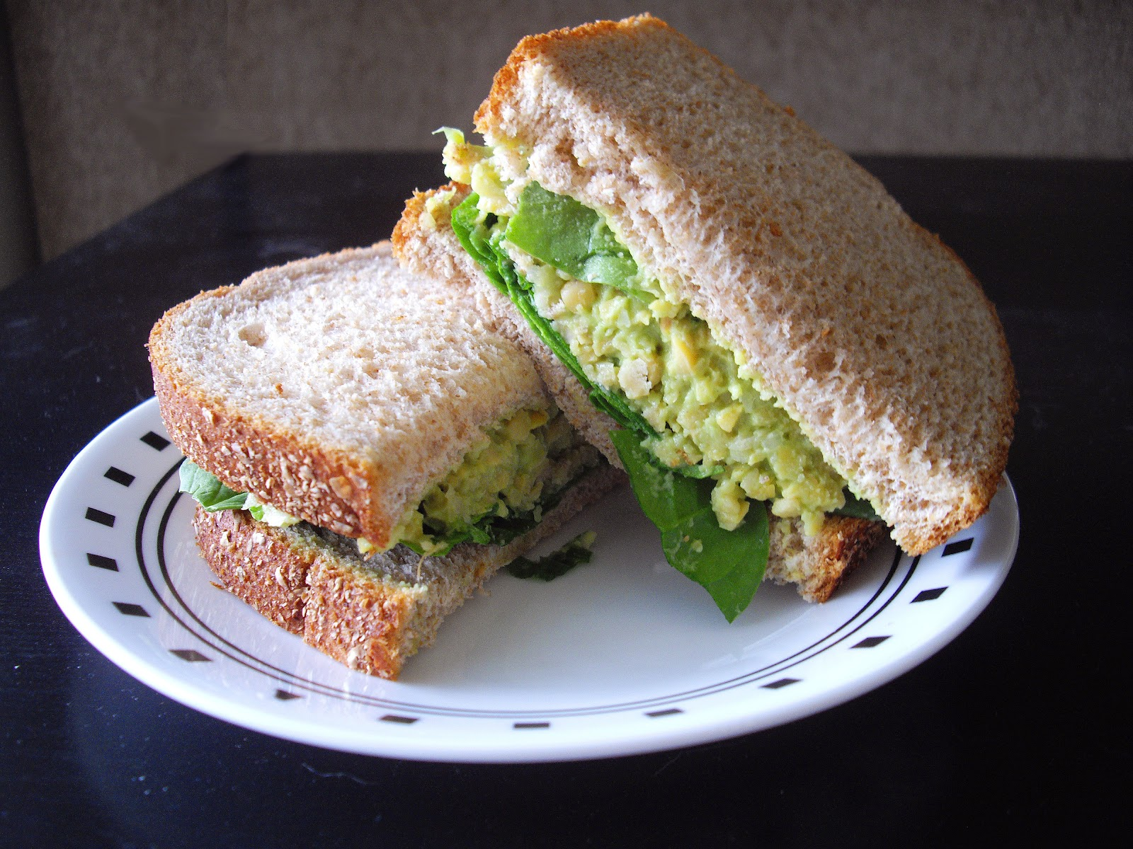 Smashed Chickpea & Avocado Sandwich | cooking ala mel