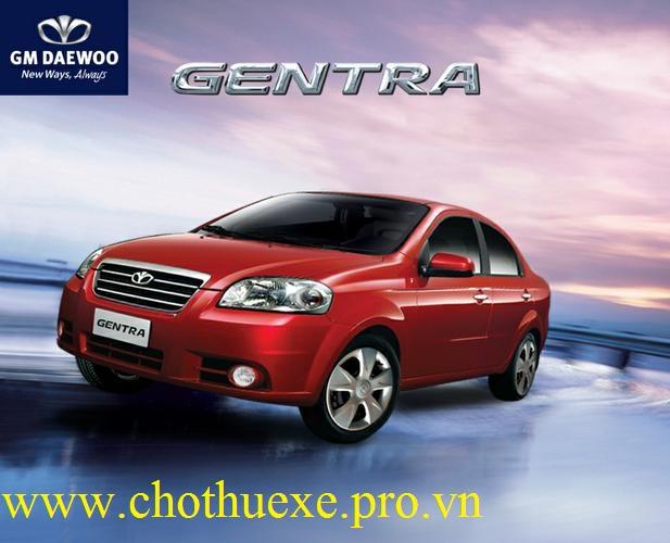 Cho thuê xe 4 chỗ Daewoo Gentra đẹp