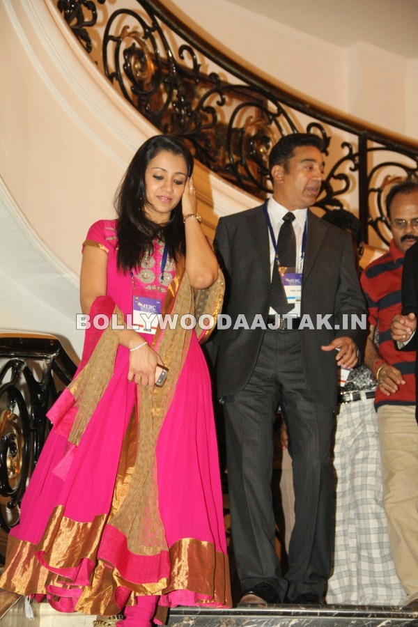 1 - Trisha & Kamal Hassan At FICCI Launch Gallery