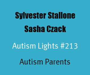 Article Header for Sylvester Stallone and Sasha Czack Autism Light Number 213