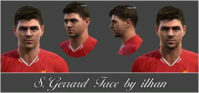 S. Gerrard Face by ilhan